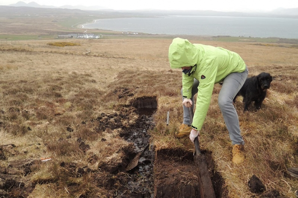 peat-cutting